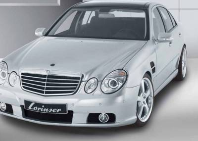 Lorinser - Mercedes-Benz E Class Lorinser CL Style Grille - Silver - 488 1221 00