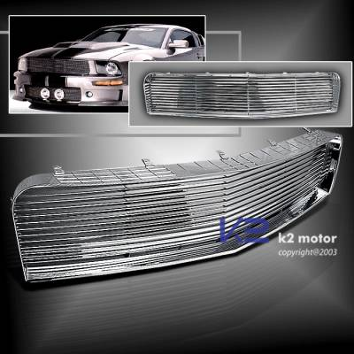 K2 - Front Grille - Chrome or Black