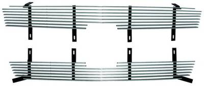 In Pro Carwear - Chevrolet Silverado IPCW Billet Grille - Cut-Out - CWBG-03CK