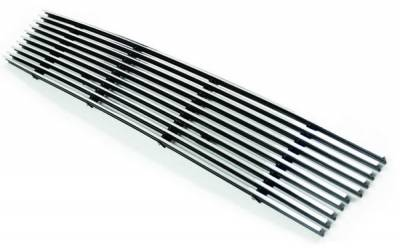 In Pro Carwear - Lincoln Navigator IPCW Billet Bumper Grille - Cut-Out - CWBG-03NVB