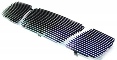 In Pro Carwear - Nissan Titan IPCW Billet Grille - Cut-Out without Hole - CWBG-04TI