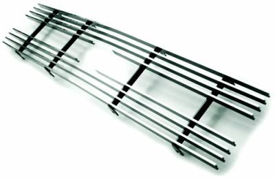In Pro Carwear - Chevrolet S10 IPCW Billet Grille - Cut-Out - 1PC - CWBG-9192S10
