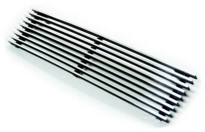 In Pro Carwear - Lincoln Navigator IPCW Billet Bumper Grille - Cut-Out - CWBG-9802NVB