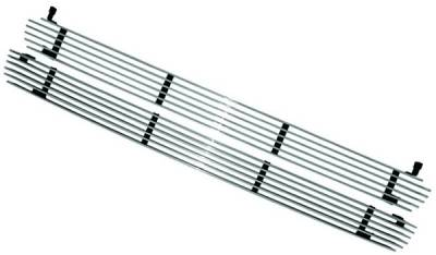 In Pro Carwear - Chevrolet Silverado IPCW Billet Grille - Cut-Out - 1PC - CWBG-9900CK