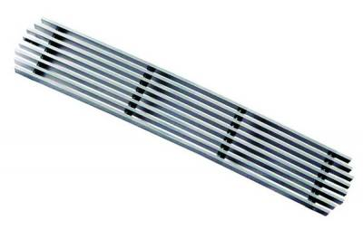In Pro Carwear - Ford Superduty IPCW Billet Bumper Grille - Cut-Out - Center - 1PC - CWBG-9901SDB