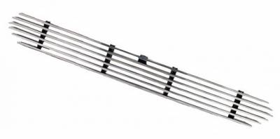 In Pro Carwear - Ford F150 IPCW Billet Bumper Insert Grille - No-Out - 1PC - CWBG-99FDB2