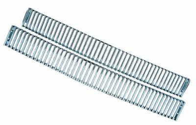 In Pro Carwear - Chevrolet CK Truck IPCW Billet Grille - Cut-Out - Vertical Bar Type - 1PC - CWBG-VERT