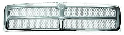 In Pro Carwear - Dodge Ram IPCW Chrome Grille - CWG-DG1207B0C