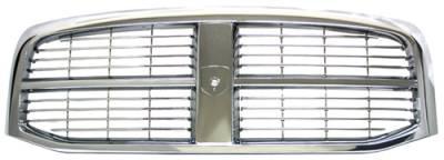 In Pro Carwear - Dodge Ram In Pro Carwear Grille - CWG-DG2407E0C
