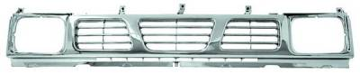In Pro Carwear - Nissan Pickup IPCW Chrome Grille - CWG-DS3007H0C