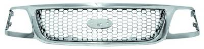 In Pro Carwear - Ford F250 IPCW Chrome Grille with Honeycomb - CWG-FD1607I0C