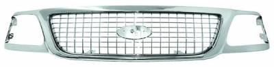 In Pro Carwear - Ford Expedition IPCW Chrome Grille - CWG-FD1707C0C