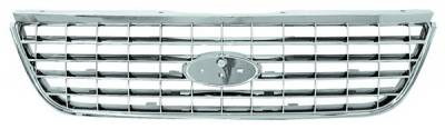 In Pro Carwear - Ford Explorer IPCW Chrome Grille - CWG-FD3907A0C