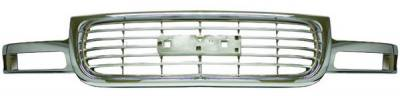 In Pro Carwear - Chevrolet Suburban IPCW Chrome Grille - 1PC - CWG-GR0407C0C