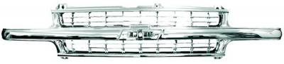 In Pro Carwear - Chevrolet Tahoe IPCW Chrome Grille - CWG-GR0407G0C