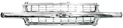 In Pro Carwear - Chevrolet Silverado In Pro Carwear Grille - CWG-GR4107A0C