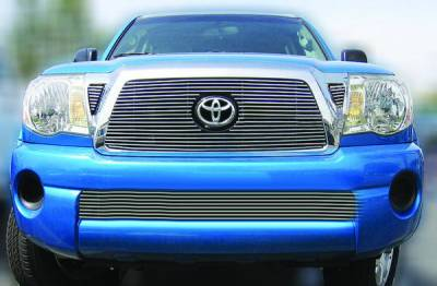 In Pro Carwear - Toyota Tacoma IPCW Billet Grille - Bolt-On - Center - 1PC - CWOB-05TM1