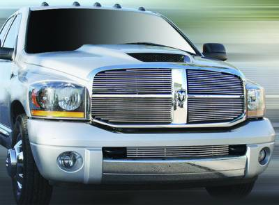 In Pro Carwear - Dodge Ram IPCW Billet Grille - Bolt-On - 4PC - CWOB-06DG