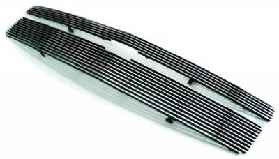 In Pro Carwear - Chevrolet Suburban IPCW Billet Grille - Bolt-On - 1PC - CWOB-07TAH