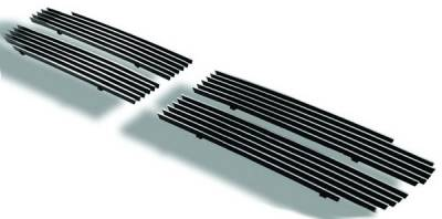In Pro Carwear - Chevrolet Suburban IPCW Billet Grille - Bolt-On - 4PC - CWOB-9703DK