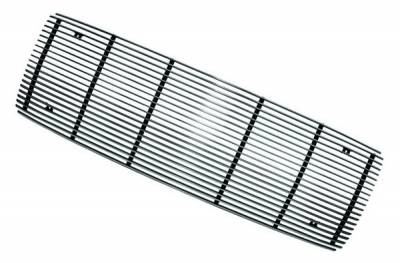 In Pro Carwear - Ford Superduty IPCW Billet Grille - Bolt-On without Logo Hole - Center - 1PC - CWOB-9904SD