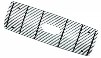 In Pro Carwear - Ford Superduty IPCW Billet Grille - Bolt-On with Logo Hole - Center - 1PC - CWOB-9904SDL