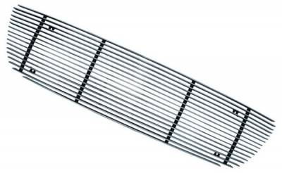 In Pro Carwear - Ford F250 IPCW Billet Grille - Bolt-On without Logo Hole - 2 Bars - CWOB-99FDB