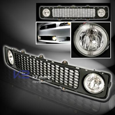 K2 - Grille with OEM Foglights