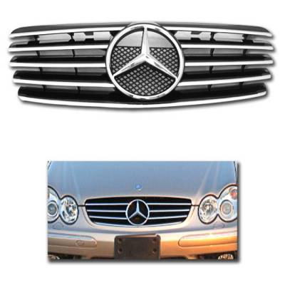 Motor Blvd - Black Chrome Style Sport Grille