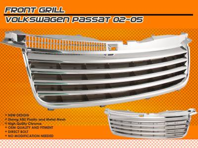 Motor Blvd - Chrome Front Grille