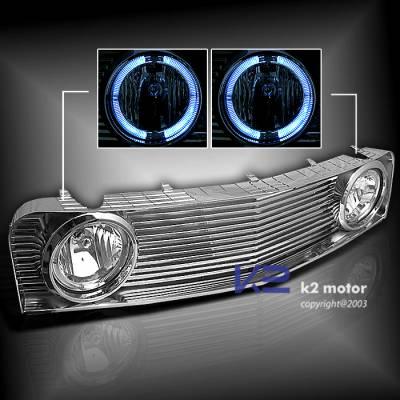K2 - Front Grille with Halo Fog Lights V6
