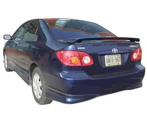 JSP - Toyota Corolla JSP Paintable Wings - 37401