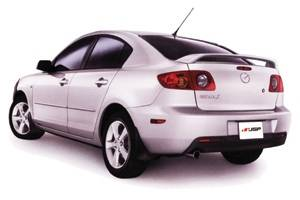 JSP - Mazda 3 JSP OEM Style Paintable Wings - 47426