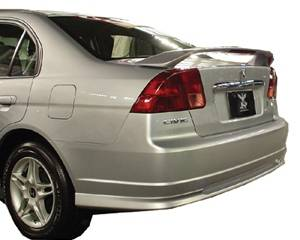 JSP - Honda Civic JSP Paintable Wings - 97225