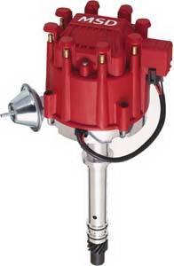 MSD - GM MSD Ignition Distributor - Billet HEI - 8365