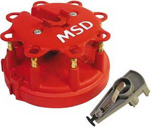 MSD - Ford MSD Ignition Distributor Cap & Rotor Kit - 8482