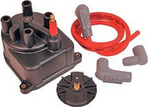 MSD - Honda CRX MSD Ignition Distributor Cap & Rotor - 82903