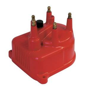 MSD - Honda Civic MSD Ignition Distributor Cap - Red - 82922