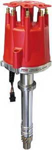 MSD - Chevrolet MSD Ignition Distributor - Pro-Billet - Locked - Cap - Rotor - 85501