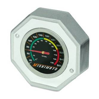 Mishimoto - Ford Mustang Mishimoto Performance Radiator Cap with Temperature Gauge - 80215