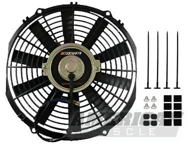 Mishimoto - Ford Mustang Mishimoto 14 inch Performance Slim Radiator Fan - 80210