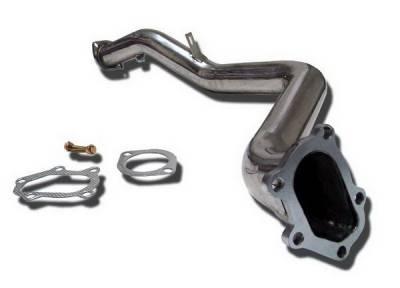 Megan Racing - Subaru WRX Megan Racing Exhaust Downpipe - T304 Stainless Steel - MR-SSDP-SI023