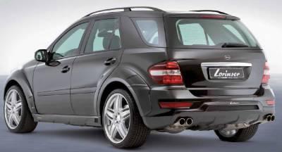 Lorinser - Mercedes-Benz ML Lorinser Sport Exhaust Tips - 490 0164 50