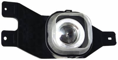 In Pro Carwear - Ford Superduty In Pro Carwear Halo Projector Fog Lights - CWF-500C2