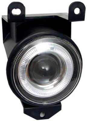 In Pro Carwear - GMC Sierra In Pro Carwear Halo Projector Fog Lights