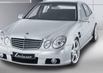Lorinser - Mercedes-Benz E Class Lorinser Exclusive Front Bumper Spoiler - 488 0211 21