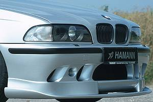 Hamann - Front Bumper Spoiler w/ Ellipsoid Fog Lights ( Competition )