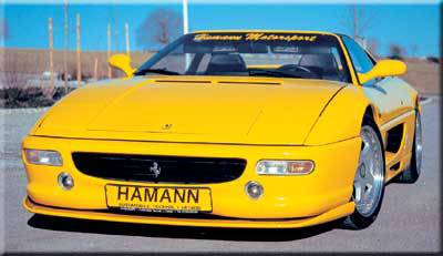 Hamann - Front Spoiler Add On ( GFK )