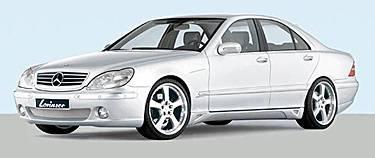 Lorinser - W220 Standard Front Bumper