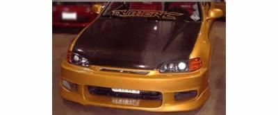Sense - Honda Civic Sense CW Style Front Bumper - CW-22F
